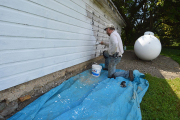 <h5>painting an outbuilding</h5><p>																																																																				</p>