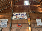 <h5>A new old sign for the barn</h5><p></p>